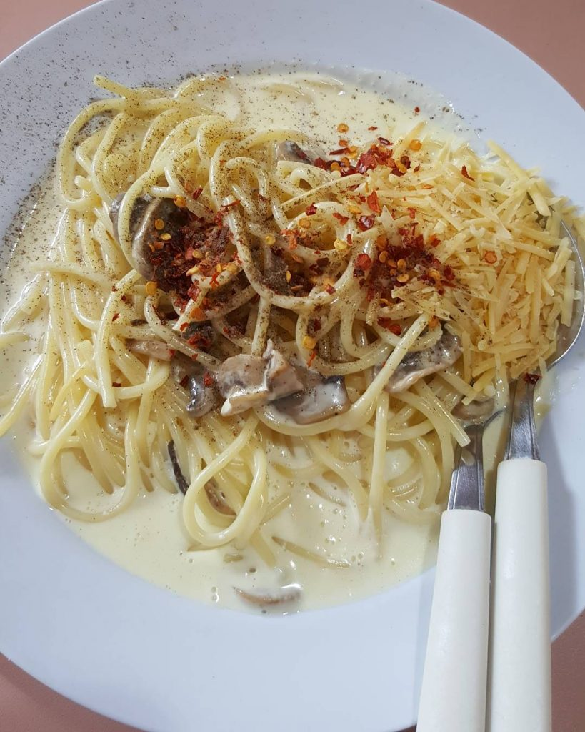 sembawang hills food centre-Grill and Pasta