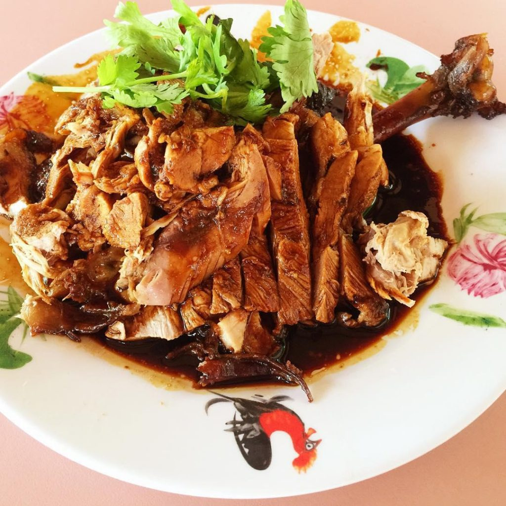 sembawang hills food centre-Seng Huat Duck Rice