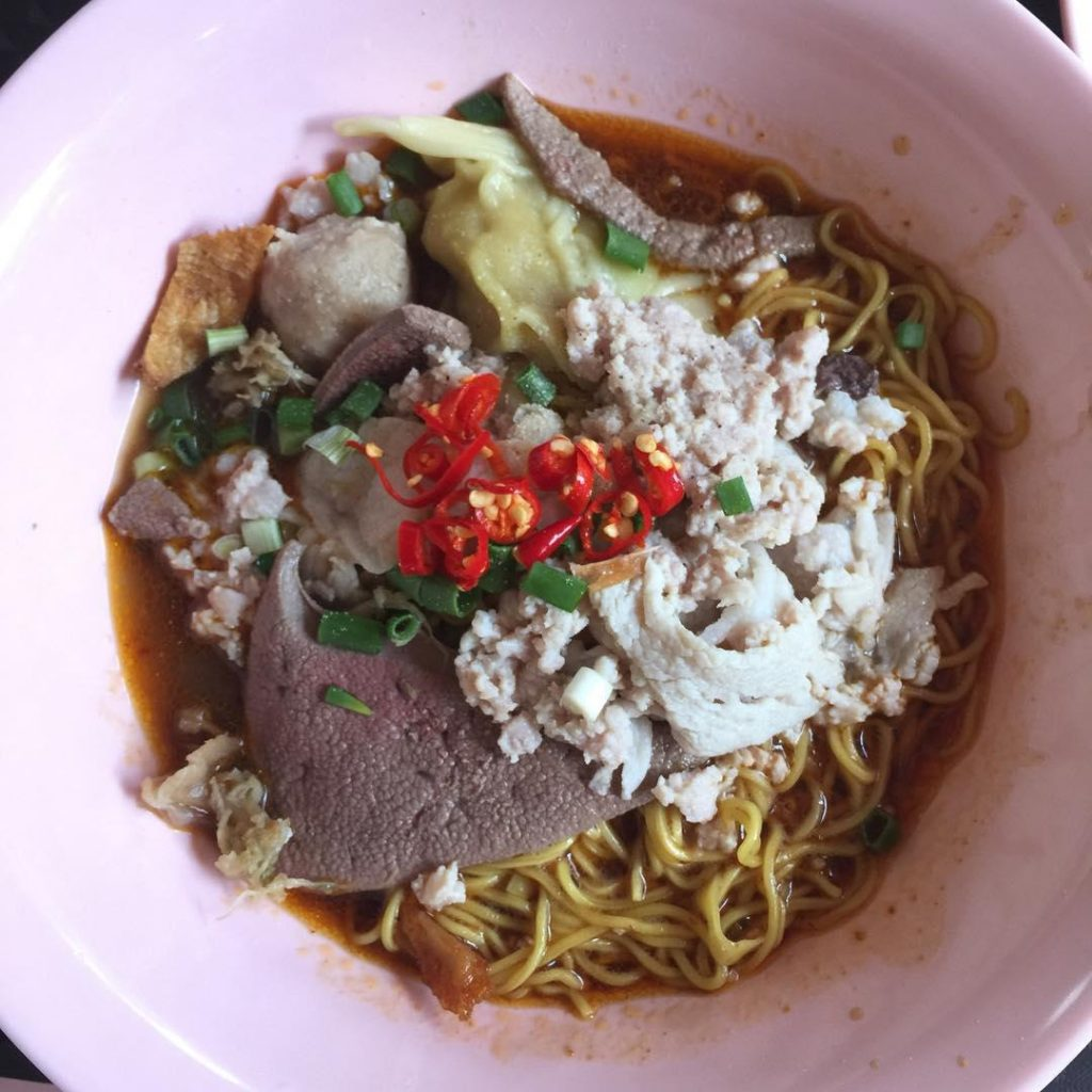 sembawang hills food centre-Teochew Minced Meat Noodle