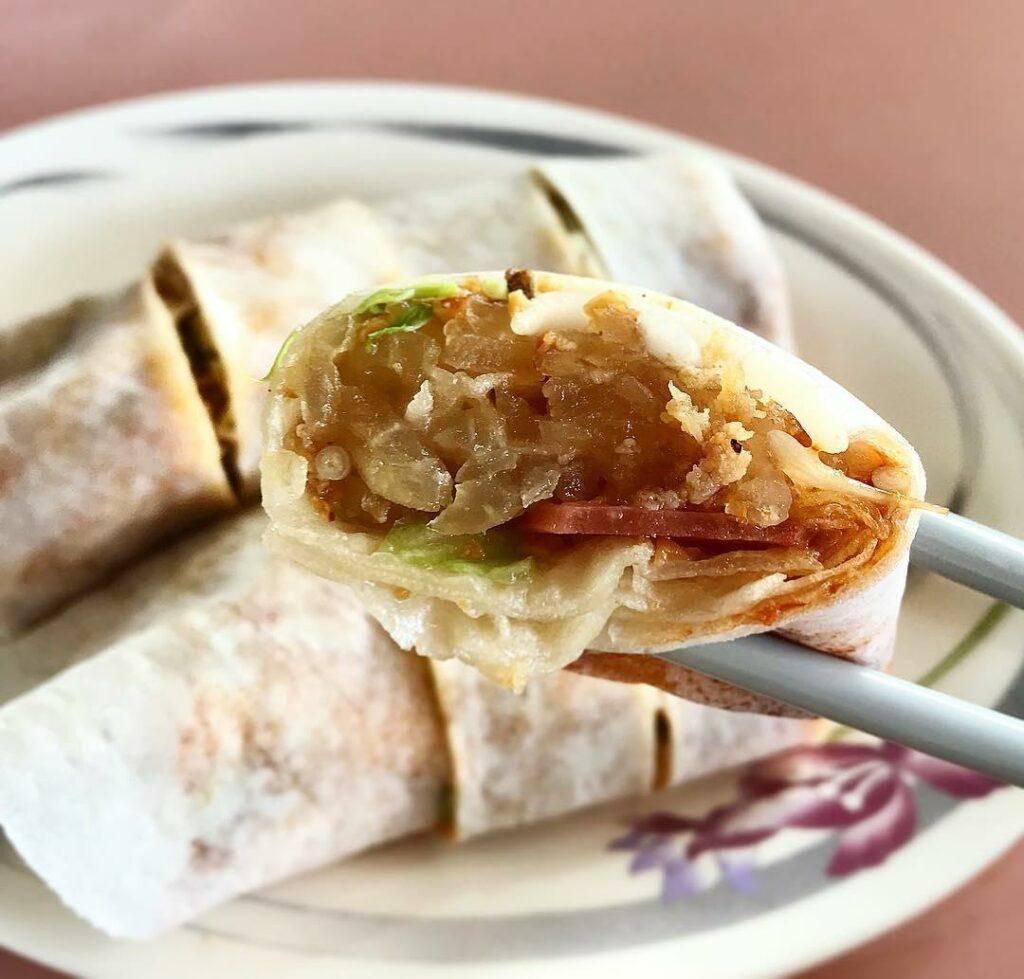 sembawang hills food centre-ping kee popiah
