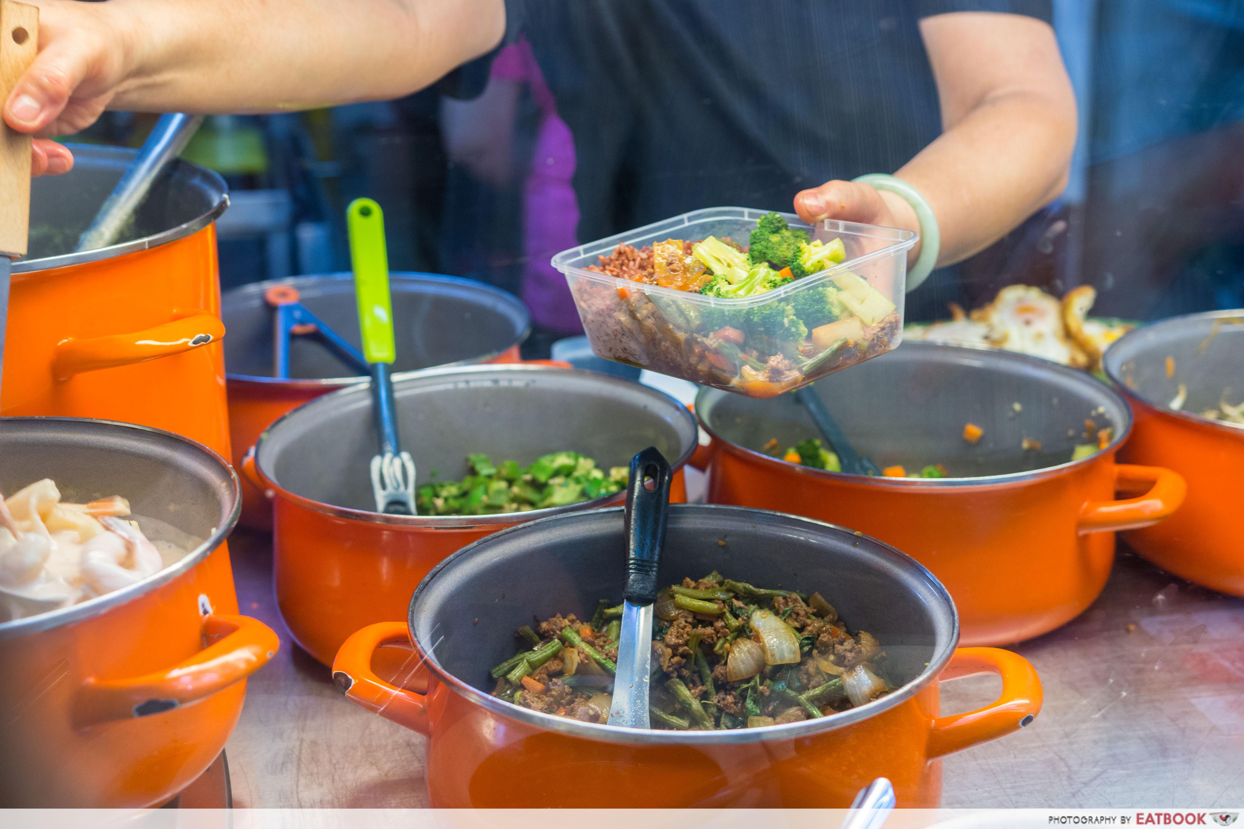 Basil & Mint - Cai Png Dishes