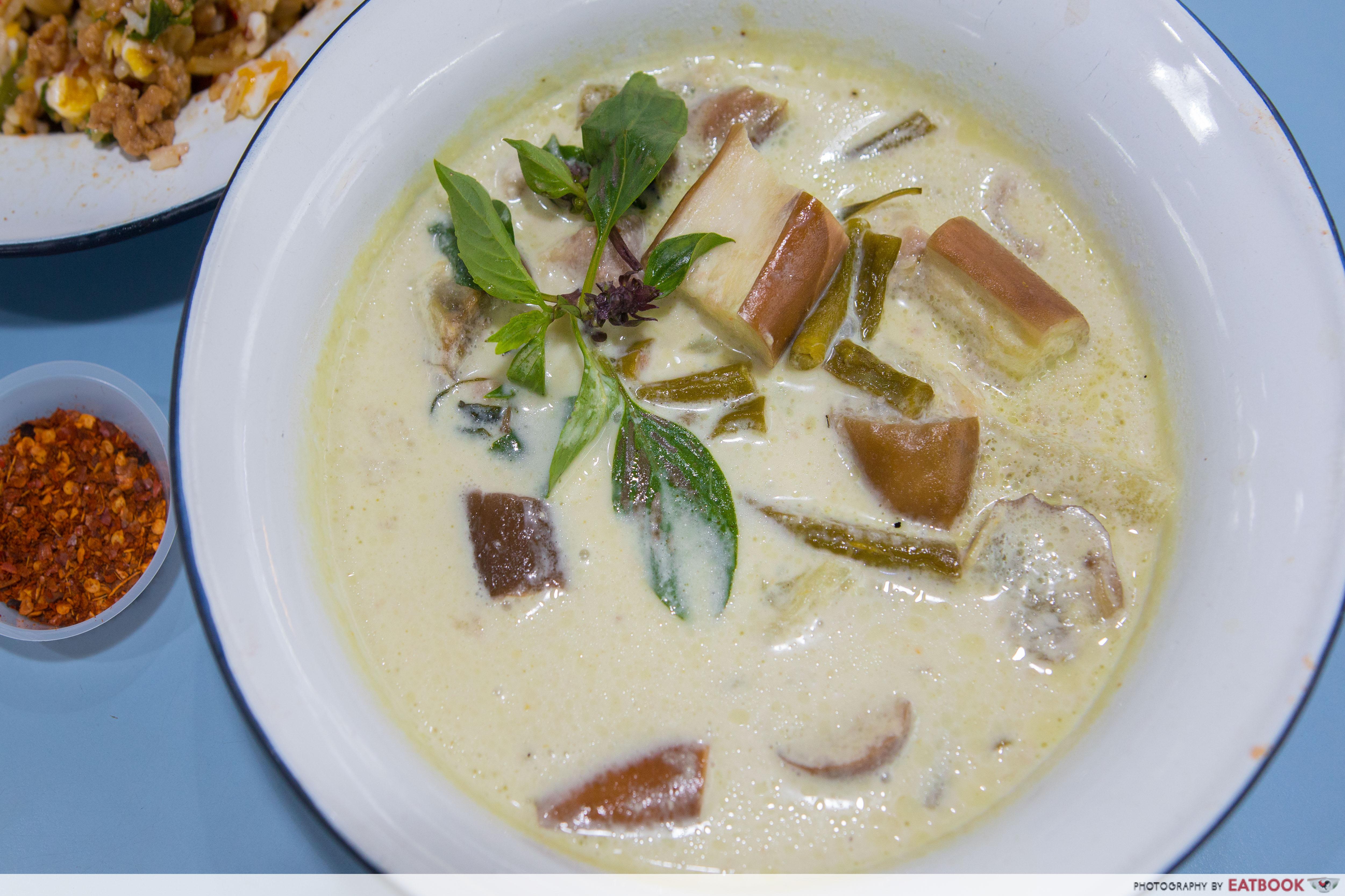 Basil & Mint - Green Curry