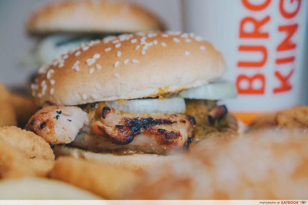 Burger King - Rendang Tendergrill Chicken Burger