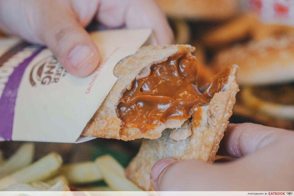 Burger King - Teh Tarik Turnover