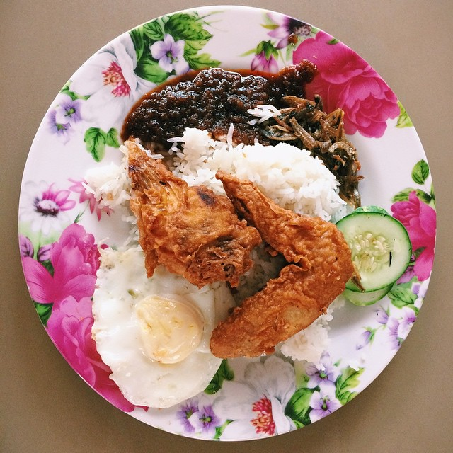 Changi Village Food Mizzy's Corner Nasi Lemak