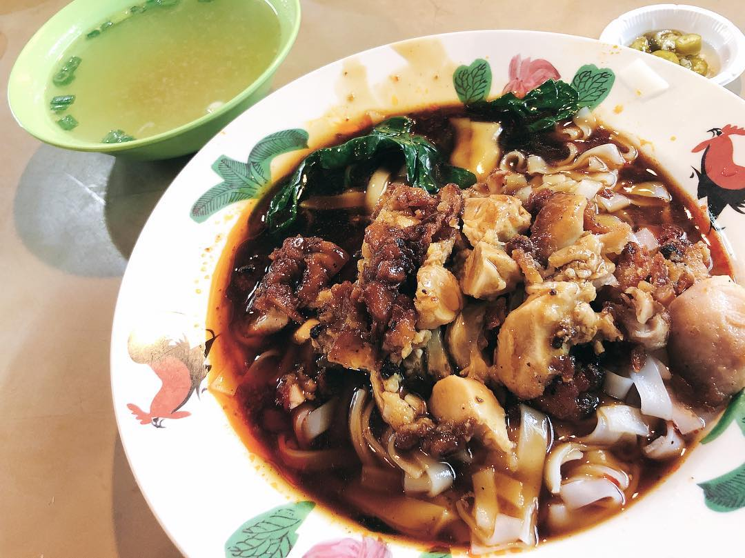 Changi Village Food Wing Kee Original Taste Ipoh Hor Fun