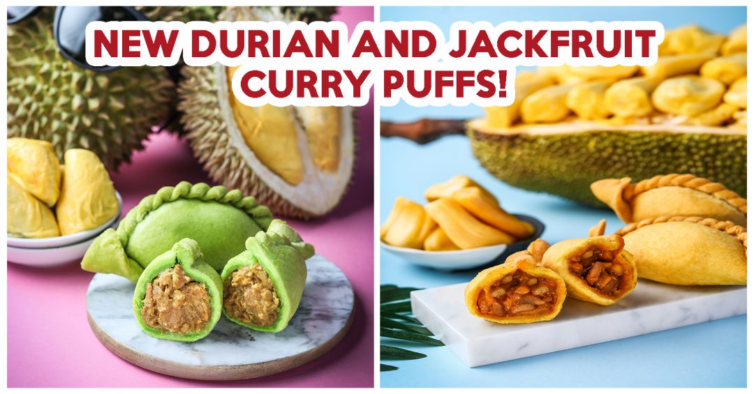 Durian Curry Puffs - feature