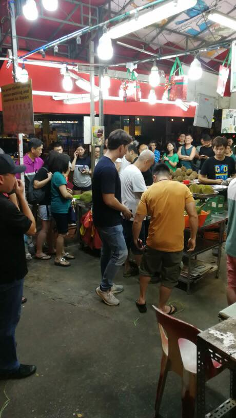 Free Durian Ah Lan Queue