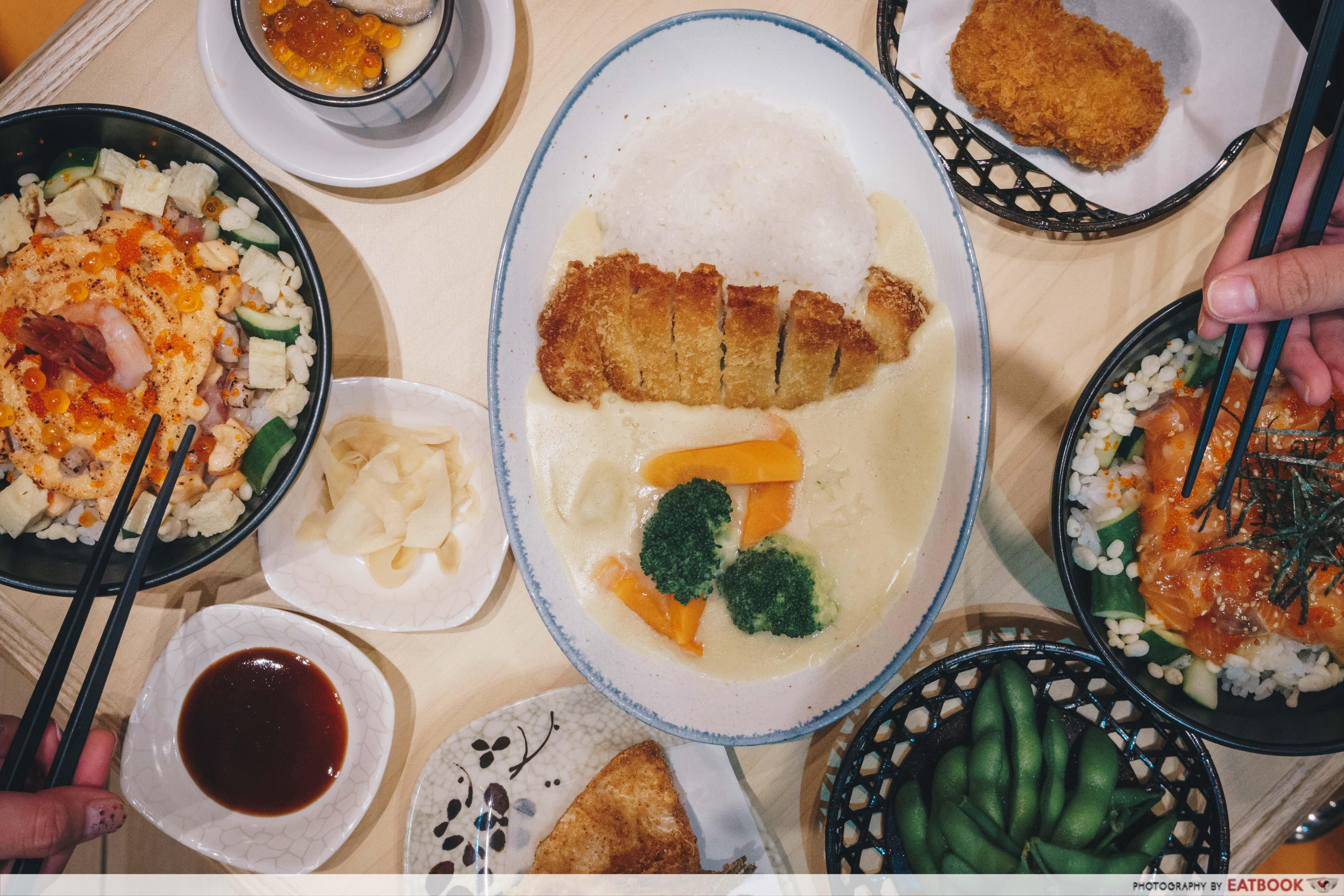 Hokkaido-Ya Review: Truffle Salmon And Aburi Mentai Chirashi