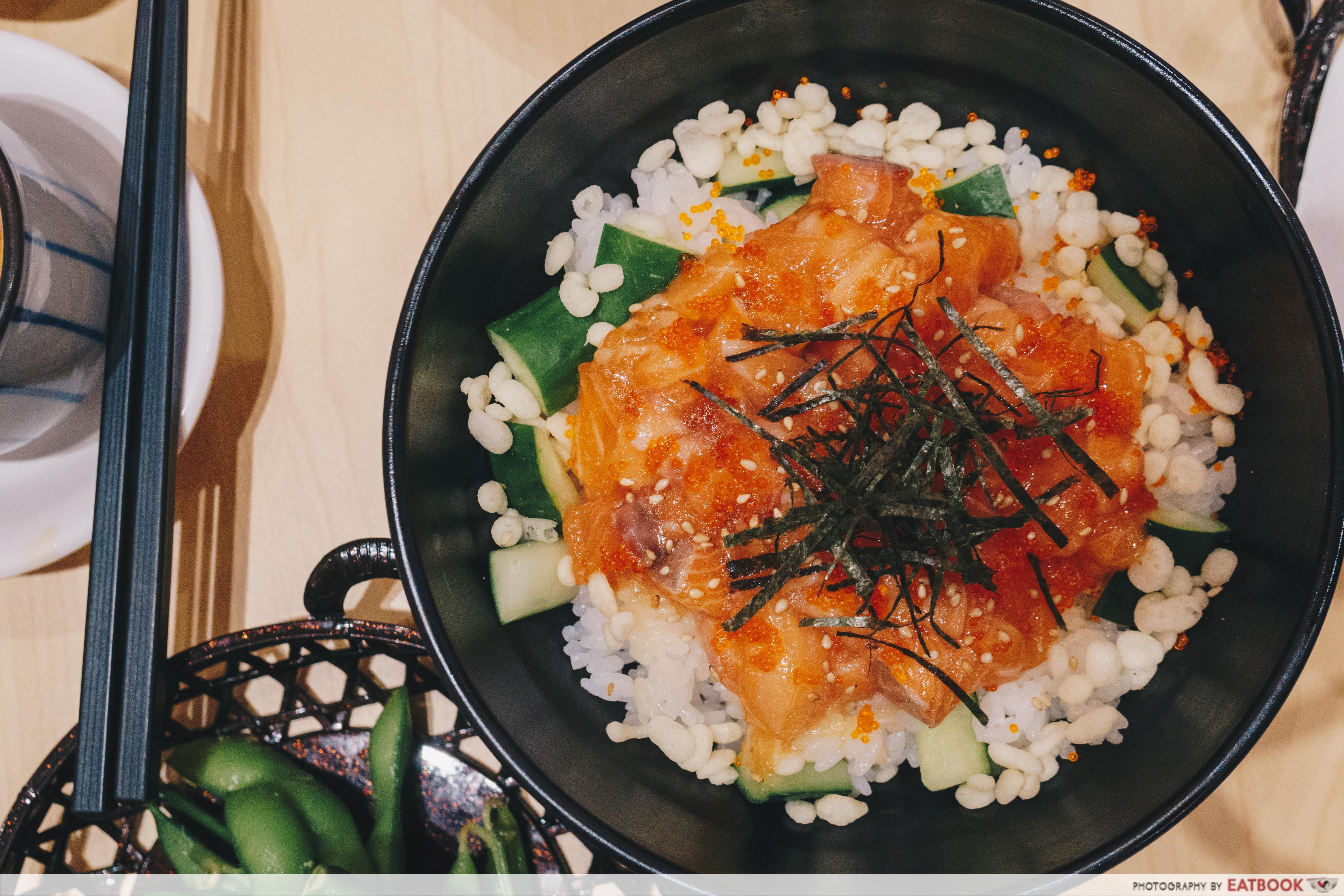 Hokkaido-Ya - Truffle Salmon Don
