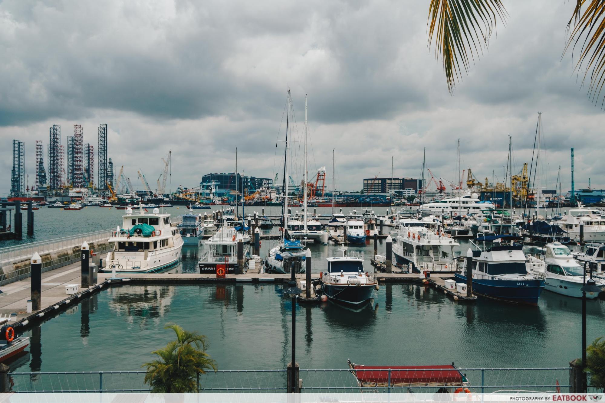 La Pizzeria - Waterfront at Singapore Yatch Club