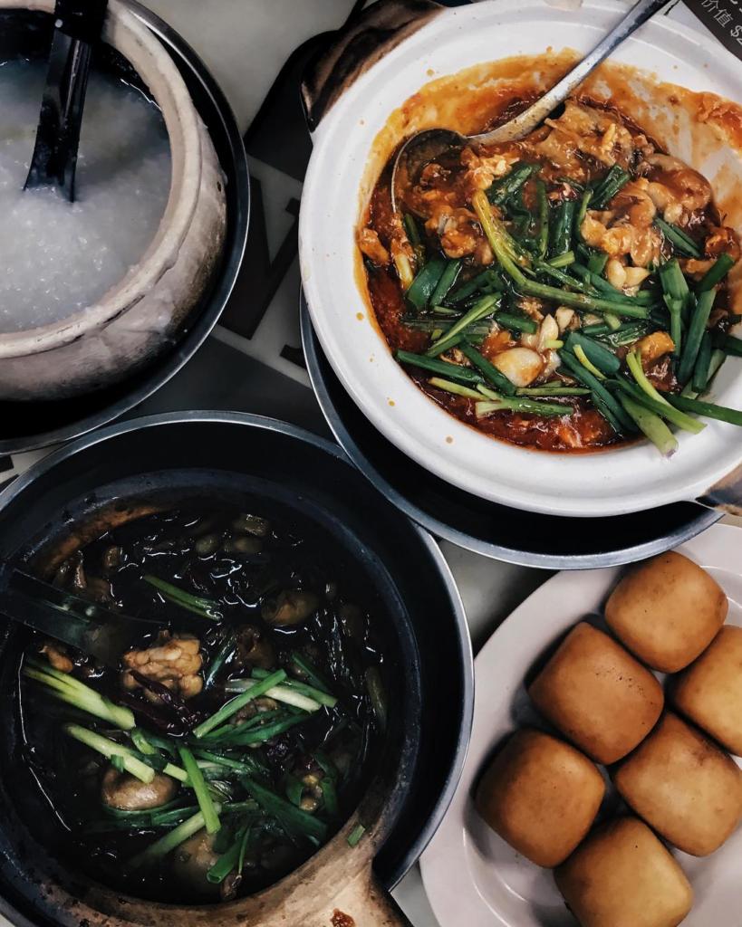 Michelin Bib Gourmand 2018 Eminent Frog Porridge & Seafood