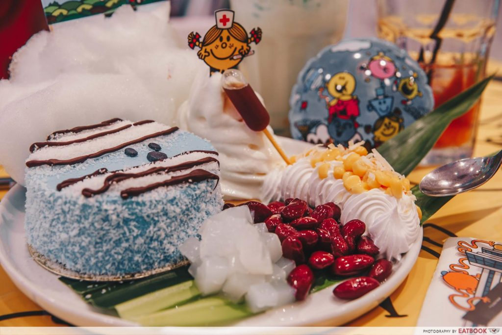 Mr Men and Little Miss Cafe Dessert