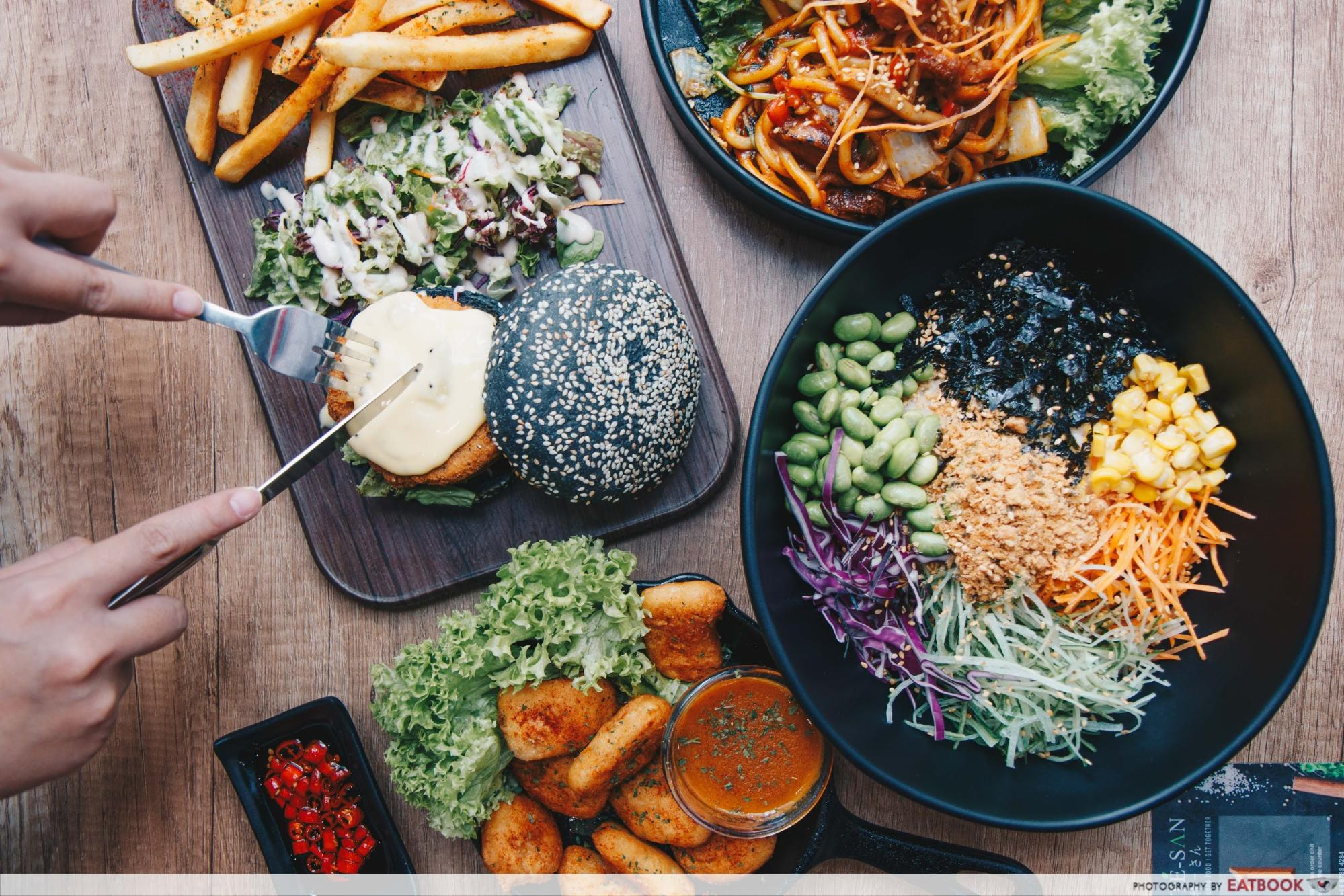 New Restaurant City Square Mall - Saute-San Food