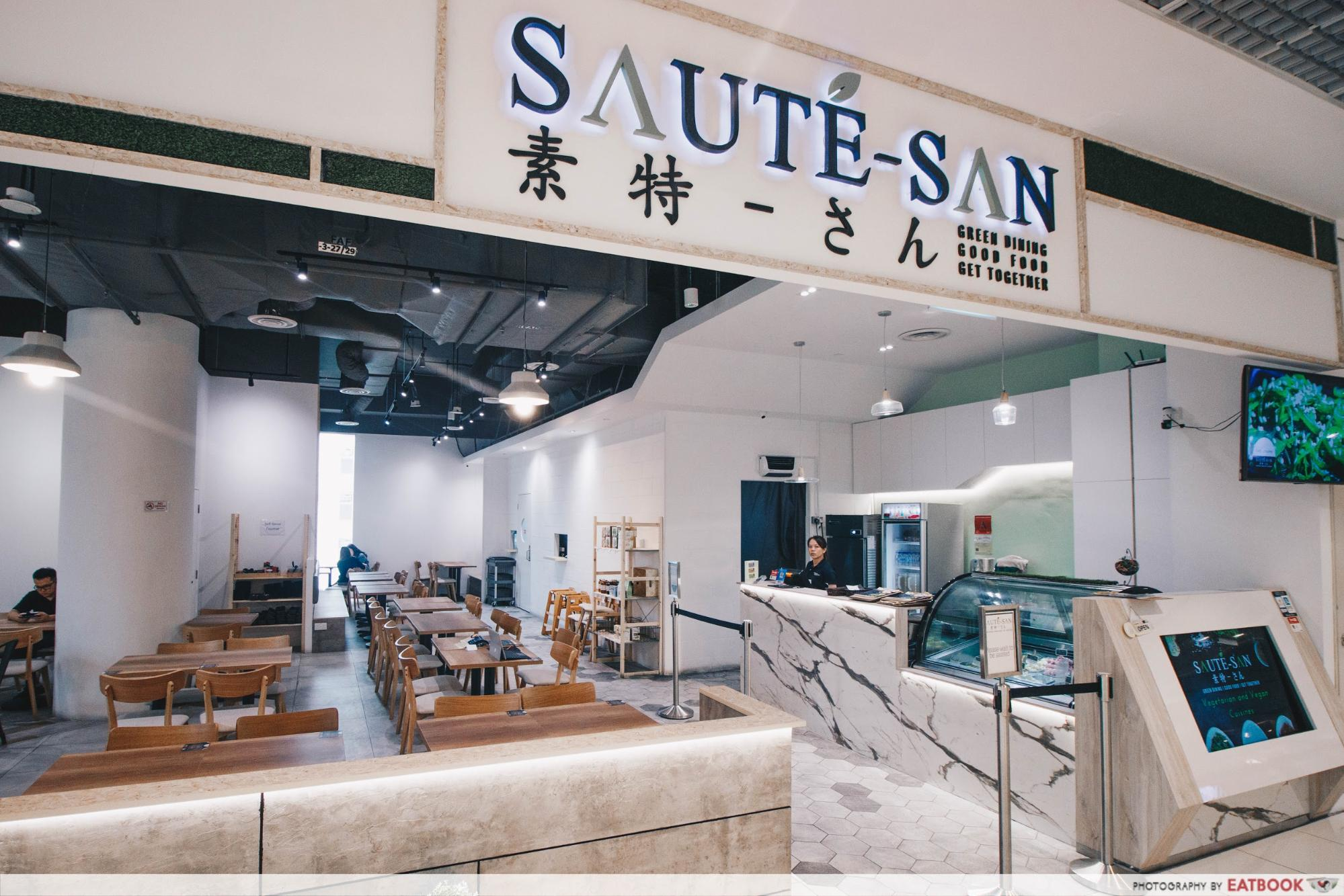 New Restaurant City Square Mall - Saute-San
