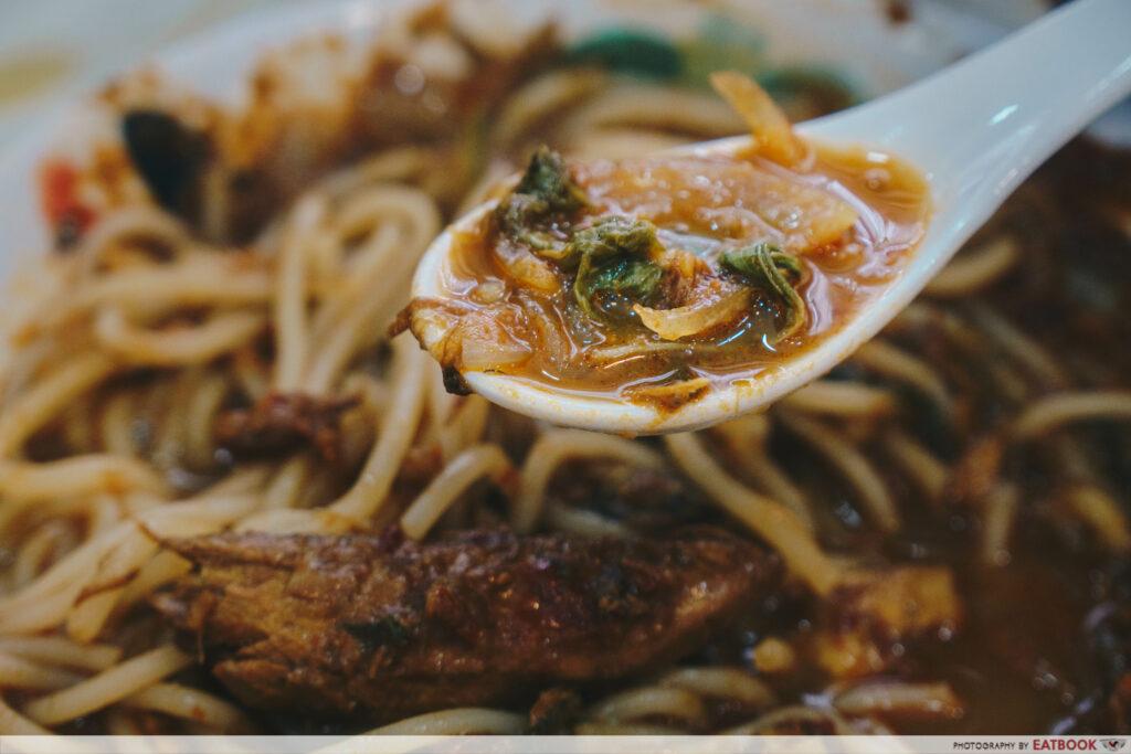 Penang Seafood Restaurant - Assam Laksa Broth