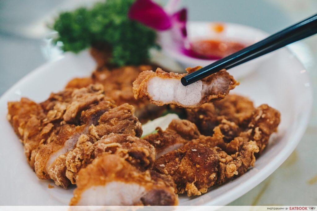 Penang Seafood Restaurant - Fermented Pork Belly Close Up