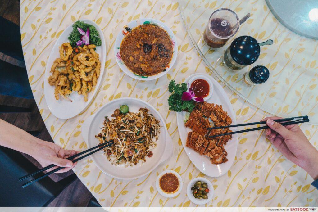 Penang Seafood Restaurant - Flatlay