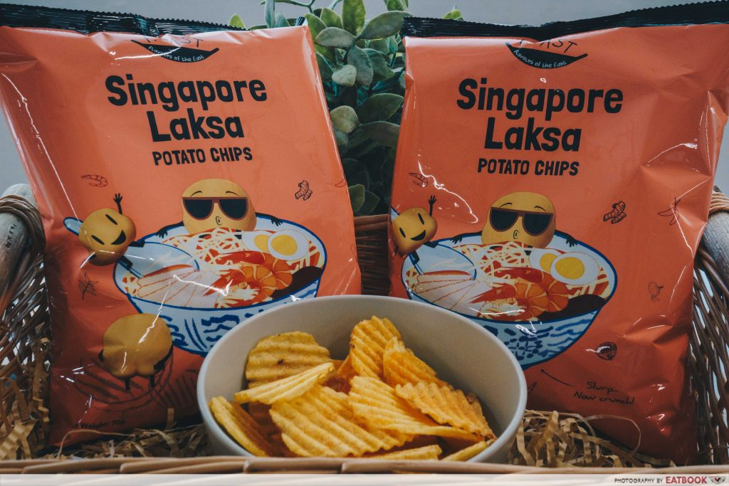 unique local snacks- laksa chips