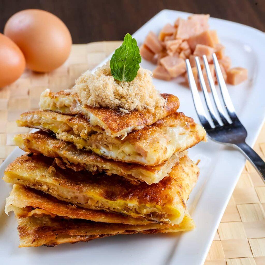 Salted egg yolk food punggol
