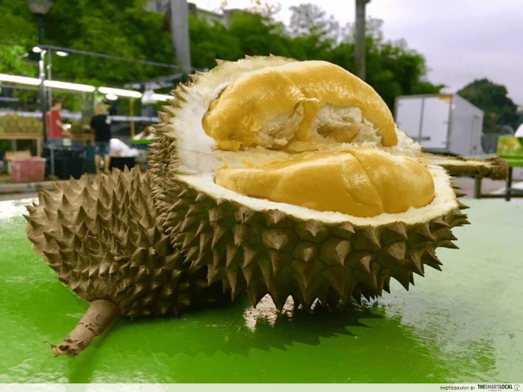 Sentosa GrillFest - durian