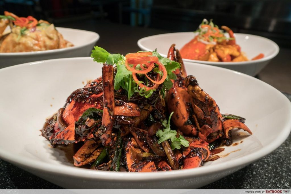 Sessions - Black Pepper Crab
