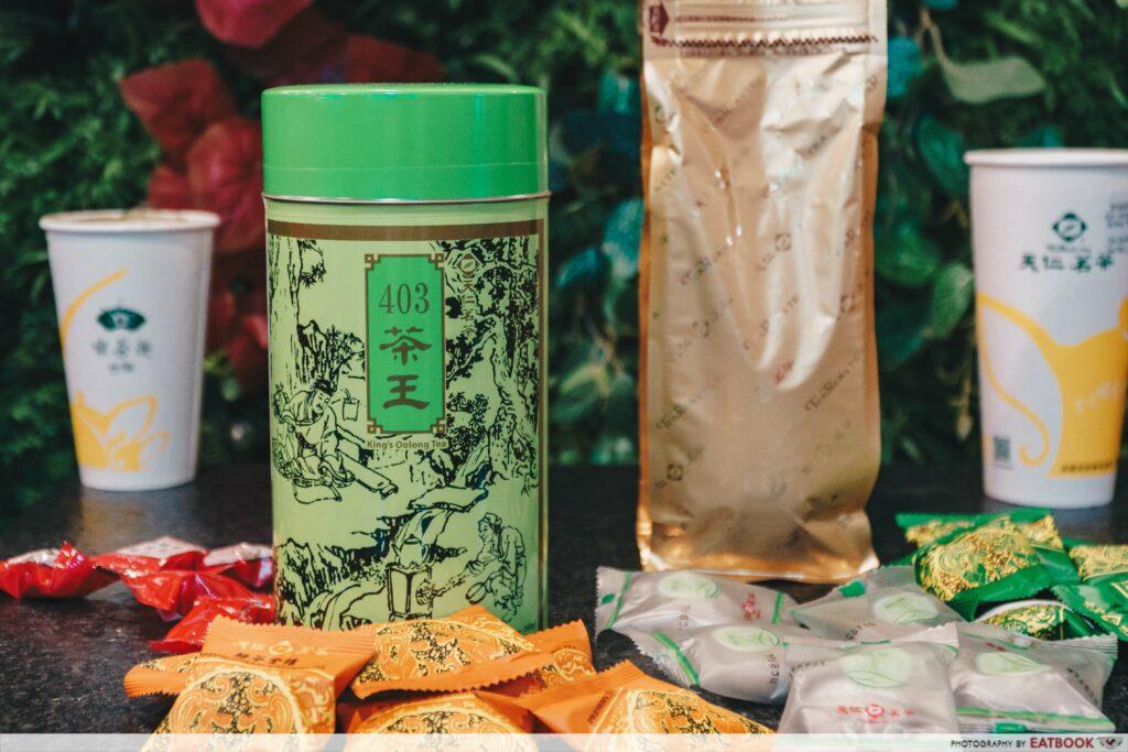Ten Ren Tea Products