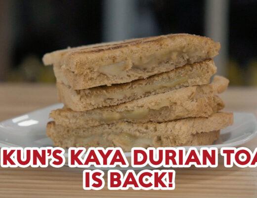 Ya Kun Kaya Durian Toast