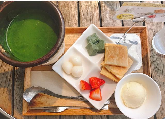 famous matcha cafe kagurazaka saryo - Matcha Fondue with Assorted Sides