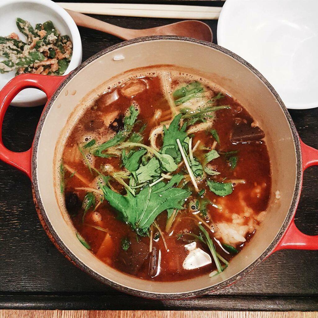 famous matcha cafe kagurazaka saryo - cha-nabe