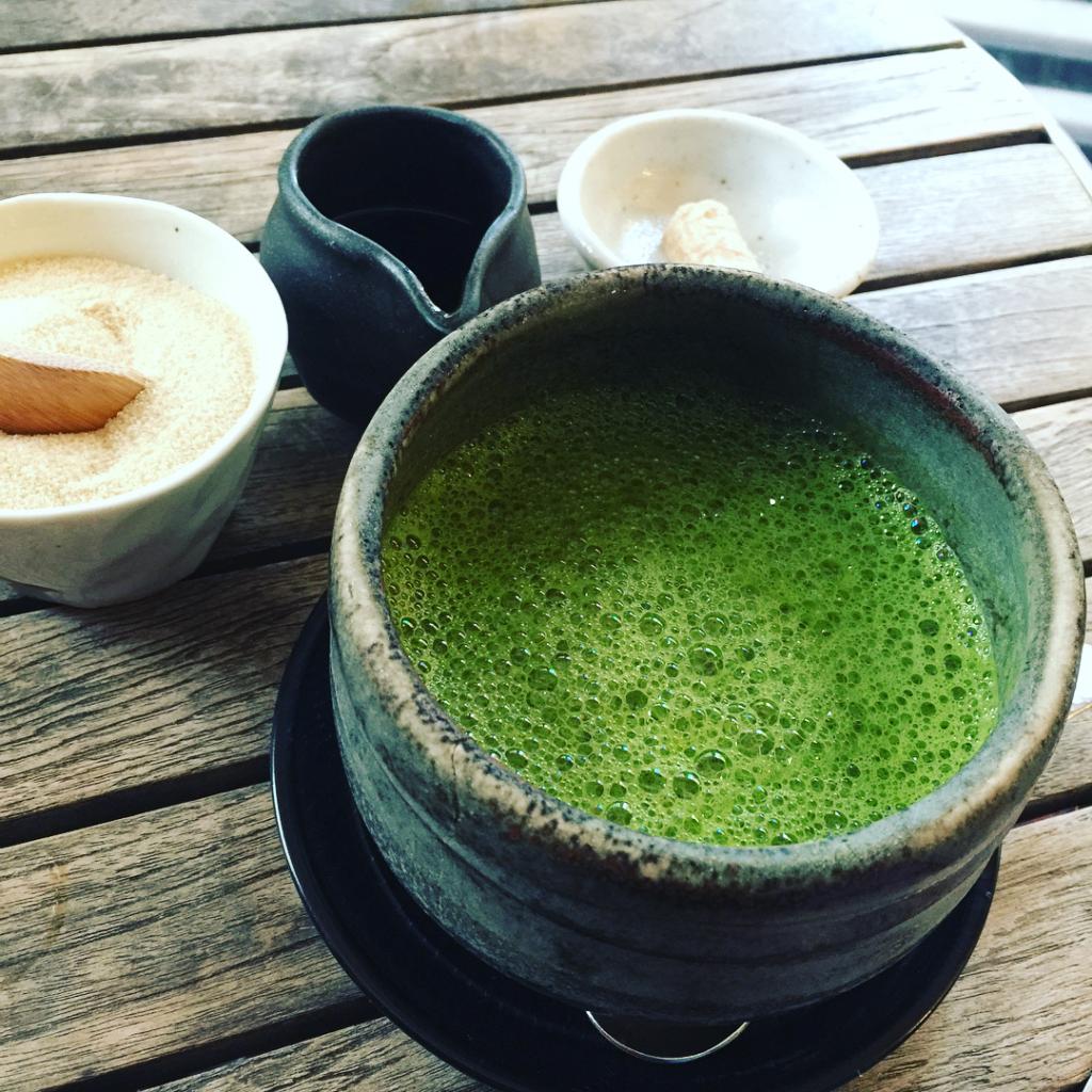 famous matcha cafe kagurazaka saryo - o matcha