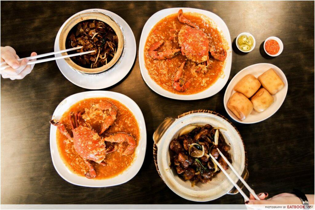 kallang food - segar village