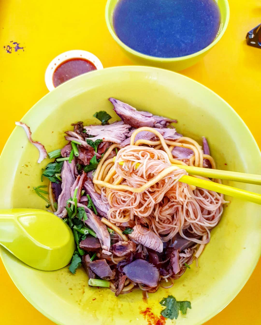 tanglin halt famous duck noodles