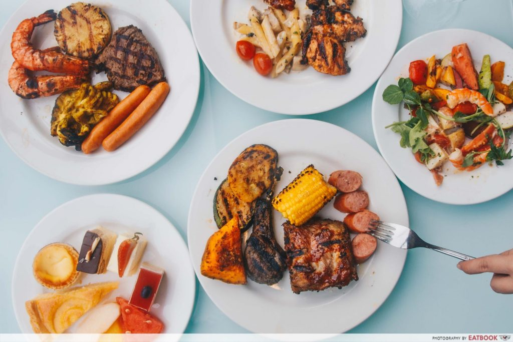 BBQ Seafood Buffet - Cocobolo Poolside Bar + Grill