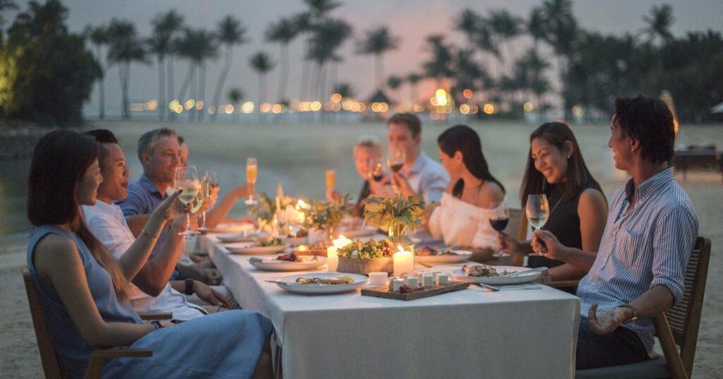 Feast at Sentosa - Tanjong Beach
