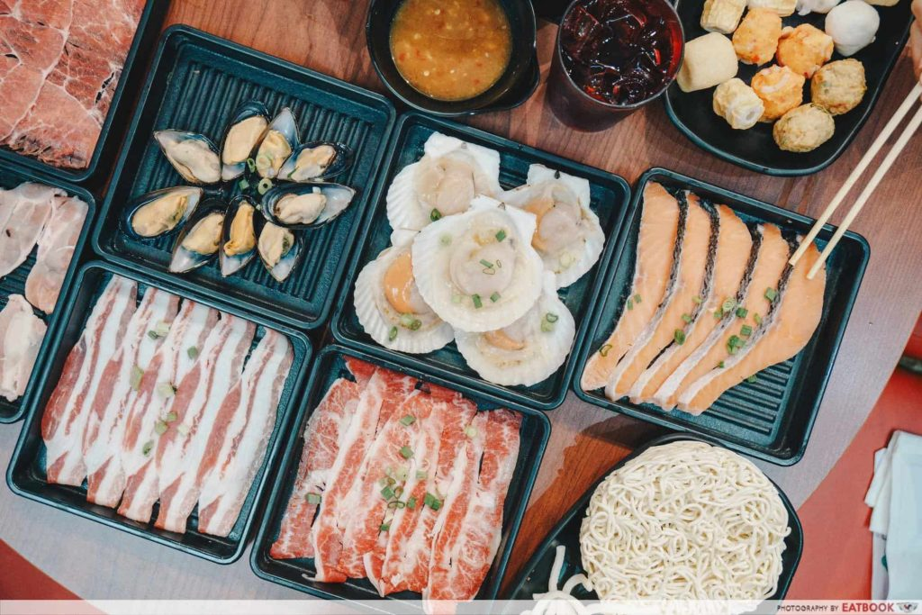 Free Dishes Maybank Suki-ya Premium meat platter