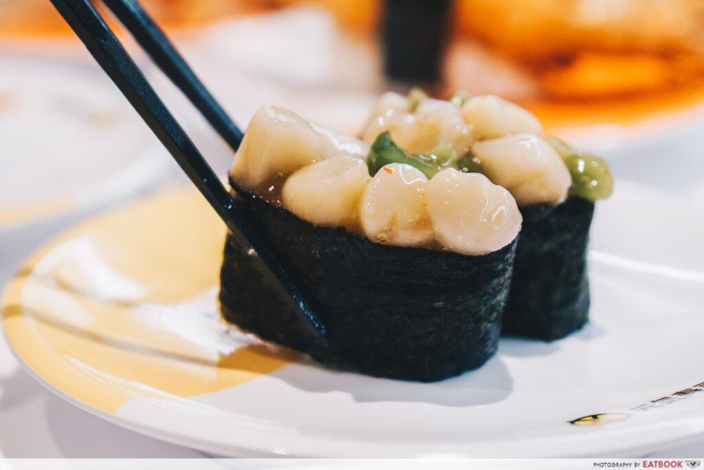 Genki Sushi Bishan Scallop