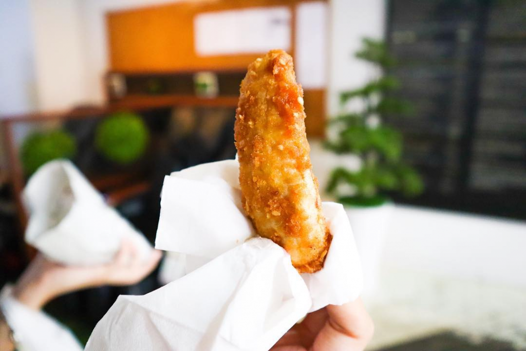 Golden Mile Complex food Kluay Kaek