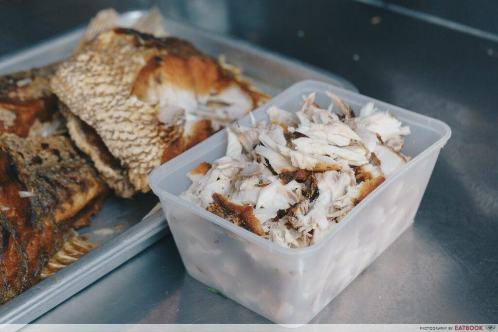 Lor Mee GHS - Fish Toppings