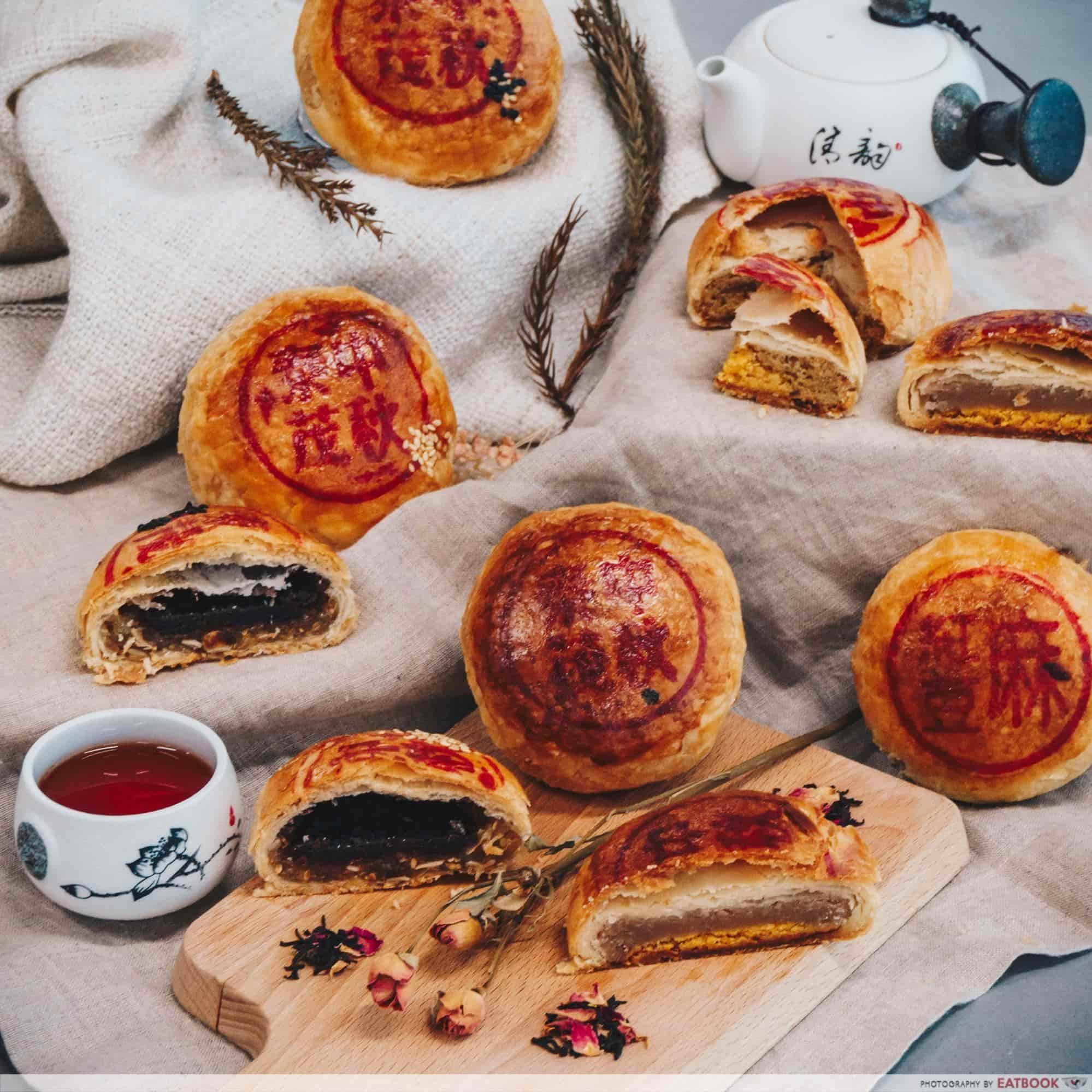 Mooncakes 2018 - Thye Moh Chan