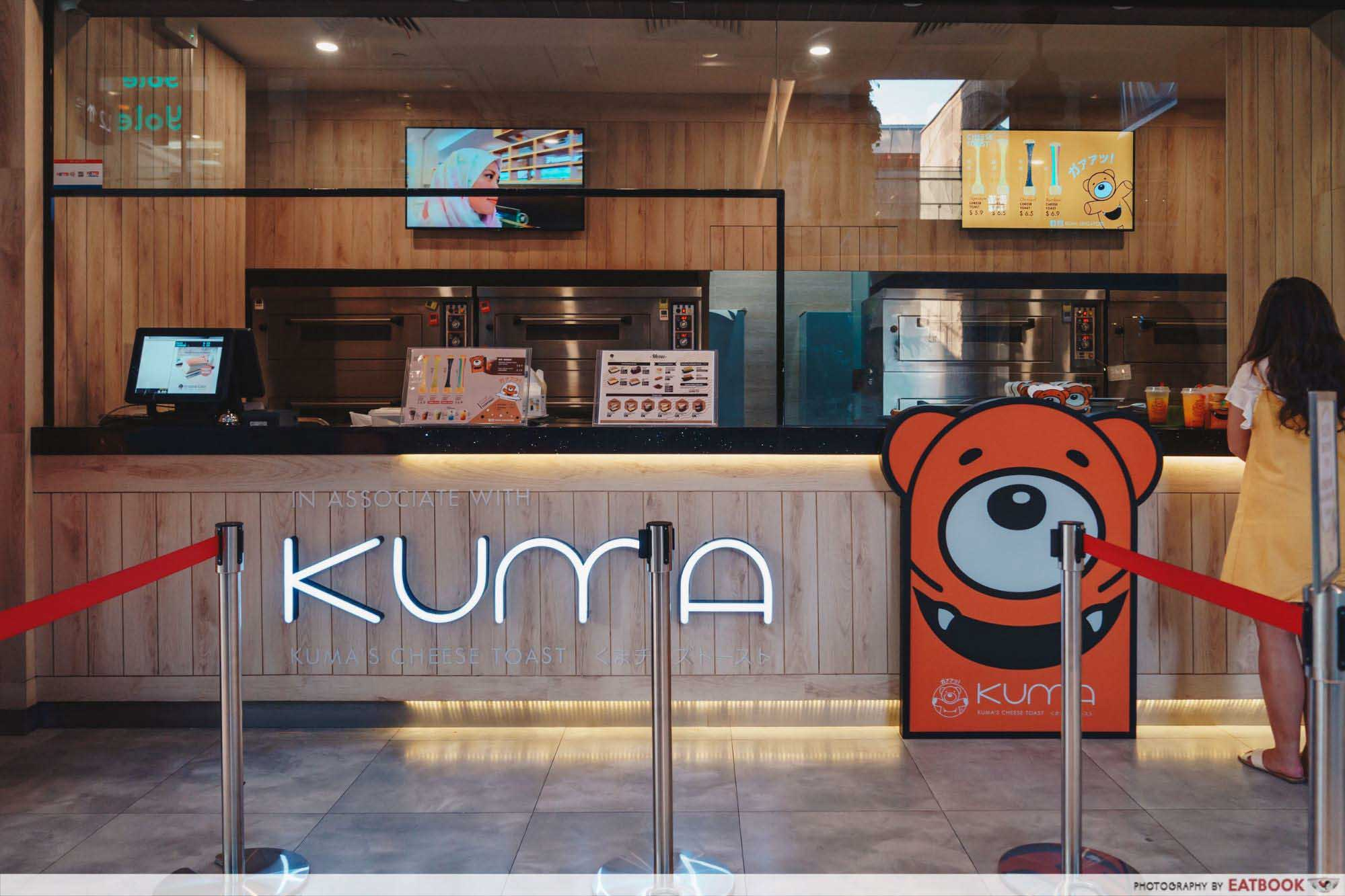 New Restaurants September 2018 - Kuma Rainbow Cheese Toast Storefront