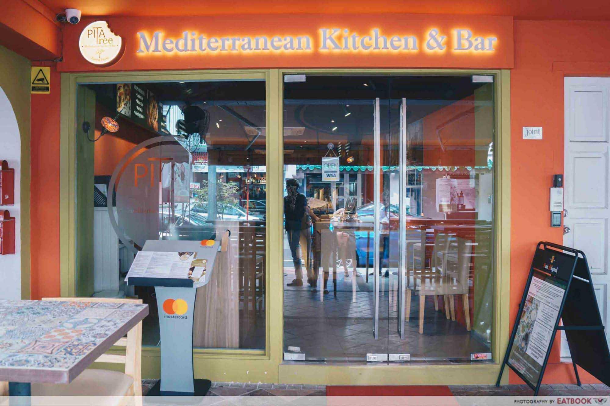 New Restaurants September 2018 - Pita Tree Strorefront