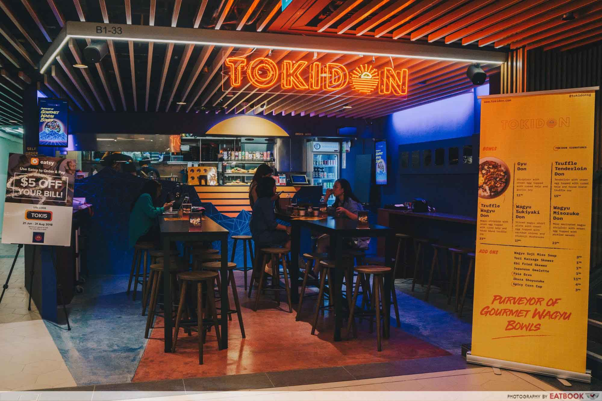 New Restaurants September 2018 - Tokidon Storefront