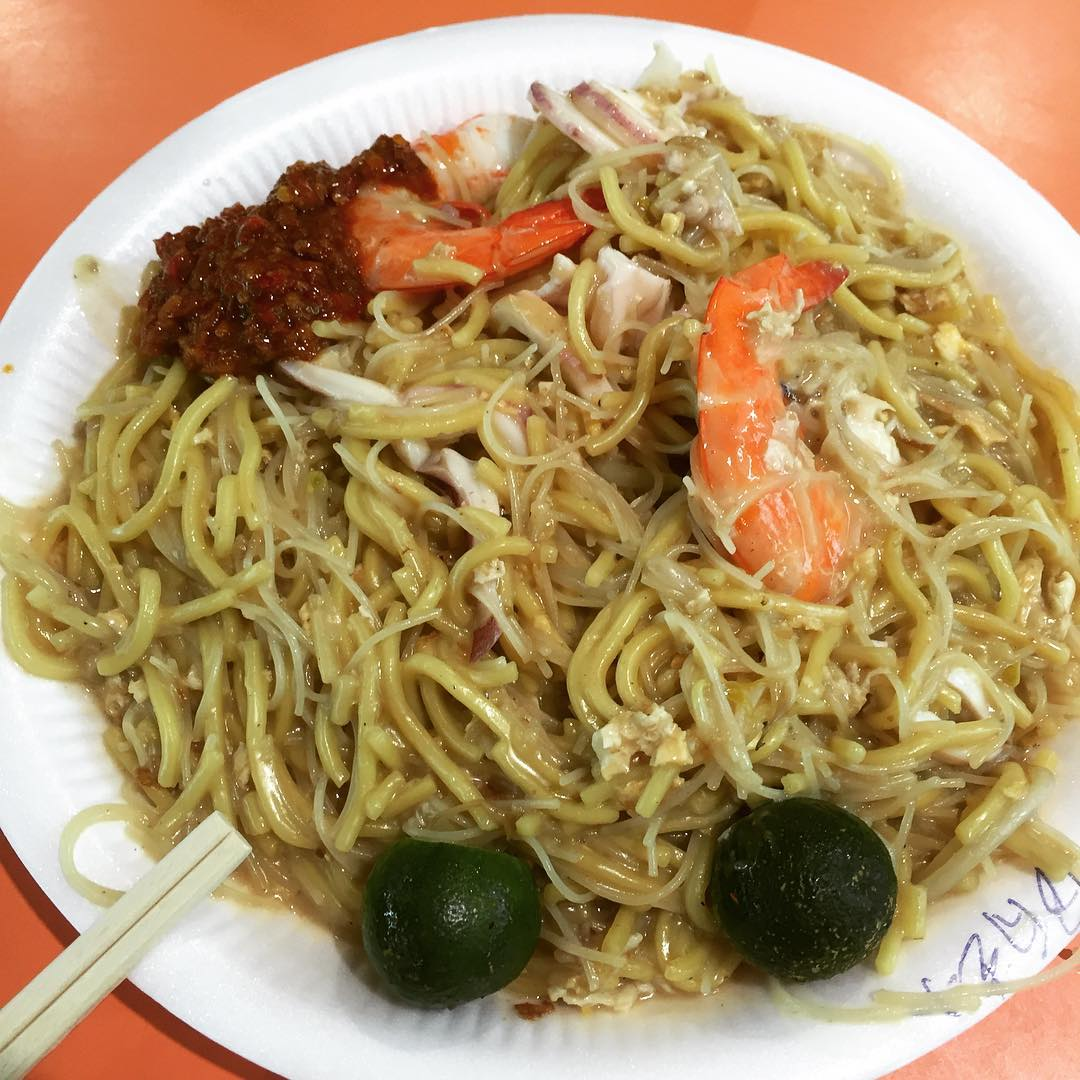 Queenstown Food - Tiong Bahru Yi Sheng Fried Hokkien Prawn Mee