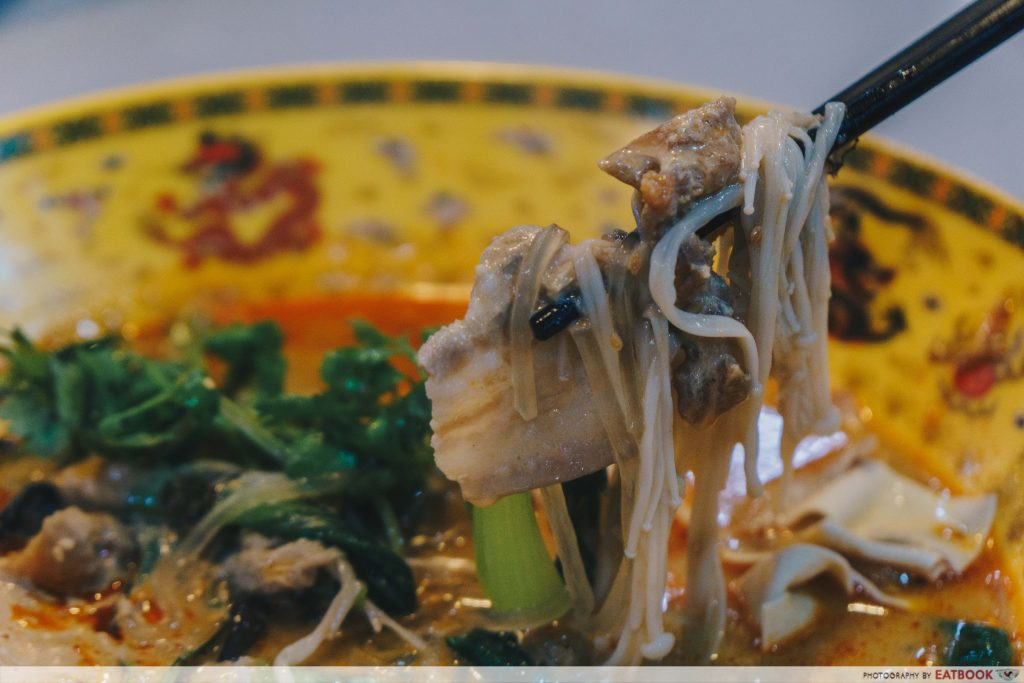 Shan Ji Fragrant Hotpot Cineleisure sweet potato noodles