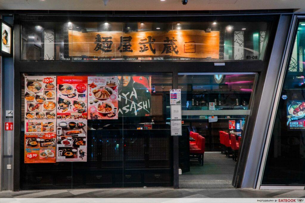 Star Vista Lunch Deals Menya Musashi
