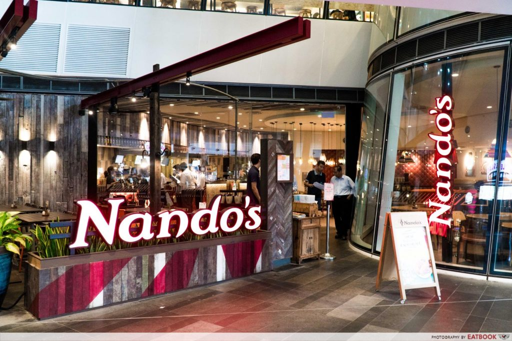 Star Vista Lunch Deals Nandos