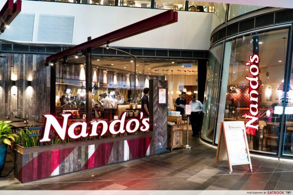 Star Vista Lunch Deals Nandos