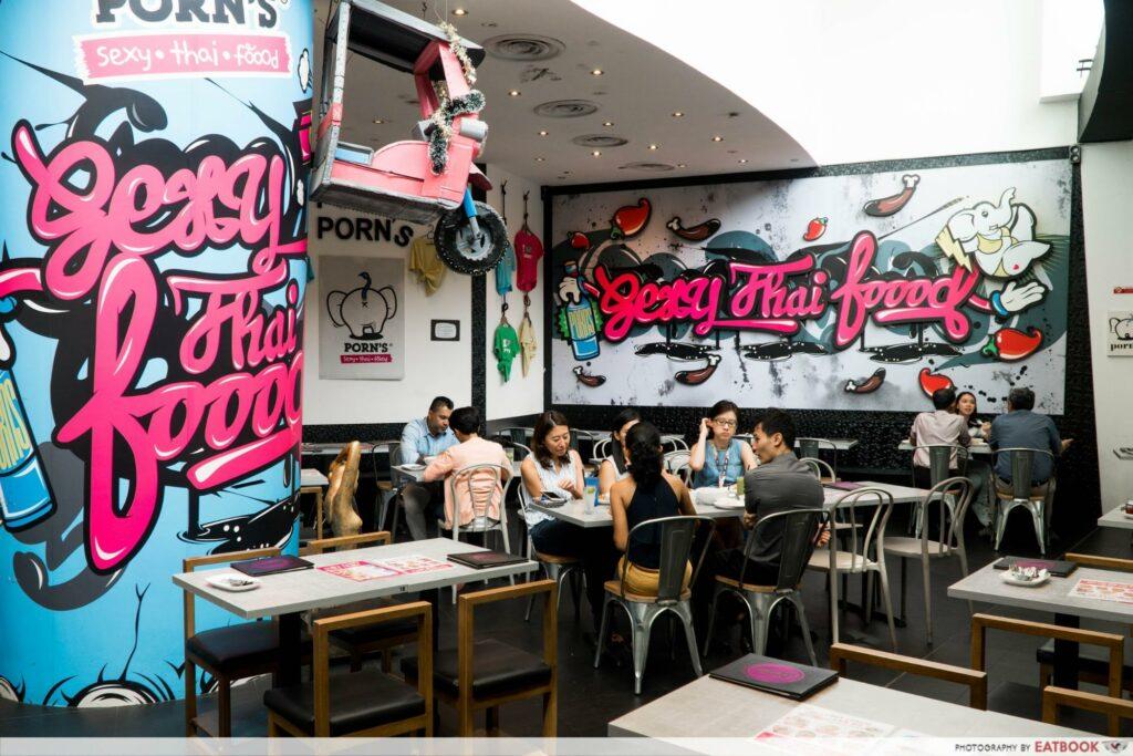 Star Vista Lunch Deals Porn's Interior