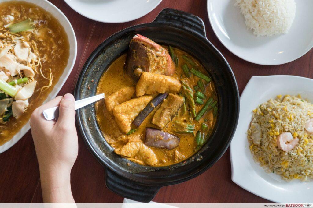 Star Vista Lunch Deals Segar Restaurant Fish Head